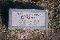 Ellouise <i>Brown</i> Esselman