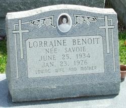 Lorraine <i>Savoie</i> Benoit