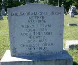 Louisa <i>Oram</i> Colclough
