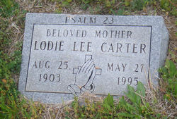 Lodie Lee <i>Luckey</i> Carter