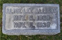 Alice Lee <i>Brown</i> Allison