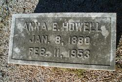 Anna E. Annie <i>Laney</i> Howell