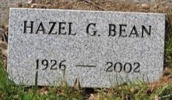 Hazel G. Bean