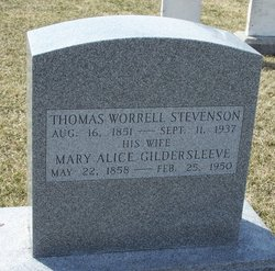 Thomas Worrell Stevenson