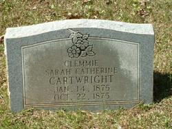 Clemmie Sarah <i>Catherine</i> Cartwright