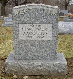 Naomi Pearl <i>Chamberlain/Adams</i> Gbur