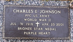 Charles Edward Charlie Johnson