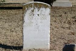 Aleck W. Anderson