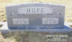 Ola Bell <i>Pickett</i> Hope