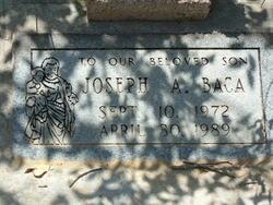 Joseph A Baca