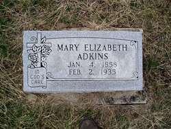 Mary Elizabeth <i>Lambeth</i> Adkins