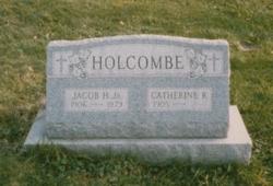 Catherine Kitty <i>Reid</i> Holcombe