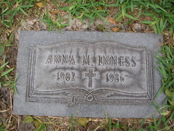 Anna M Inness