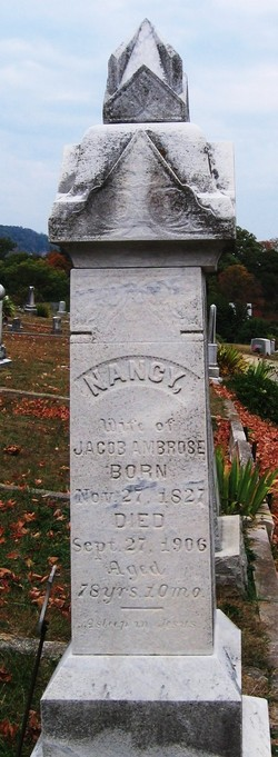 Nancy <i>Fenner</i> Ambrose