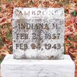 Indiana M. Ambrose
