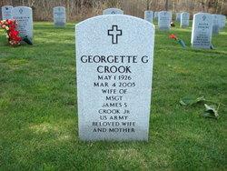 Georgette Ginette <i>Monteil</i> Crook
