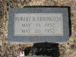 Robert D Arrington