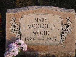 Mary Lucille <i>McCloud</i> Wood