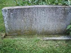 Etta Florence <i>Fulford</i> Branam