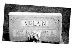 Anna Rebecca <i>Barritt</i> McLain