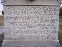 Rev William Capers Bass