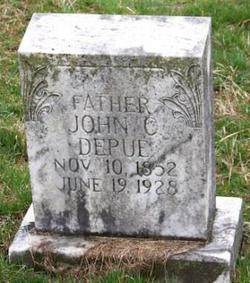 John C DePue