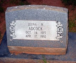 Leona M. <i>Ernest</i> Adcock-Cunningham