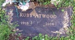 Ruby L <i>George</i> Atwood