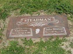 Julia Mildred <i>Jensen</i> Steadman