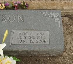 Myrtle Edna Watson