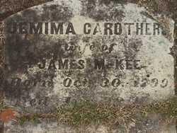 Jemima A. <i>Carothers</i> McKee