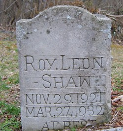 Roy Leon Shaw