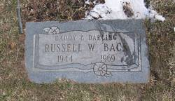 Russell William Back