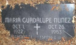 Maria Guadalupe Nunez