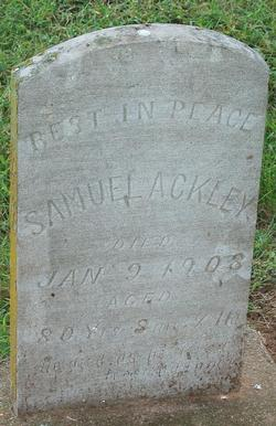 Samuel Ackley