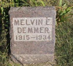 Melvin E Demmer