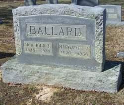 Margaret Ann <i>Bonham</i> Ballard