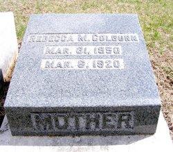 Rebecca M <i>Davidson</i> Colburn