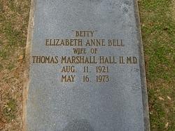 Elizabeth Anne <i>Bell</i> Hall