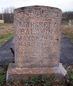 Margrett Jane <i>Smith</i> Baldwin