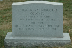 Doris <i>Hayne</i> Yarborough