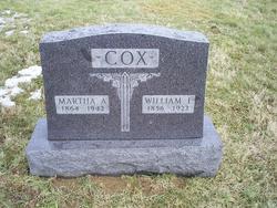 Martha A. <i>McDonald</i> Cox