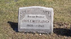 Louis E McCullough
