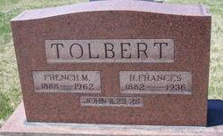 Rebecca Frances <i>Price</i> Tolbert