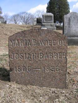Maria B. <i>Burgess</i> Barber