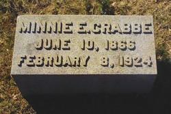 Minnie E Crabbe