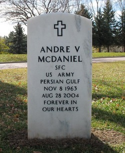 Andre V McDaniel
