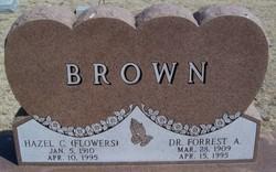 Dr Forrest A Brown