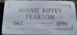 Minnie <i>Rippey</i> Pearson