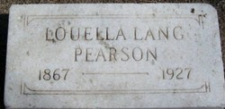 Louella <i>Lang</i> Pearson